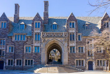 Princeton, New Jersey - February, 2019: Princeton University is a Private Ivy League University in New Jersey, USA. Fototapete