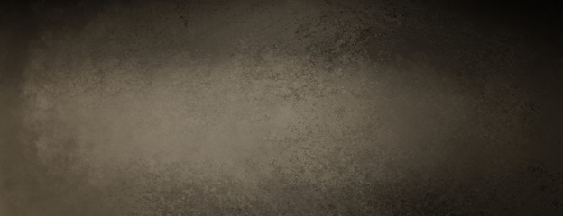 Brown and black background with vintage grunge texture, old textured paper or wall