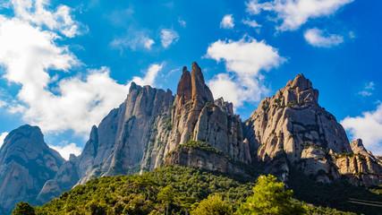 Fotorollo Barcelona Mountain of Montserrat, Catalonia Spain.