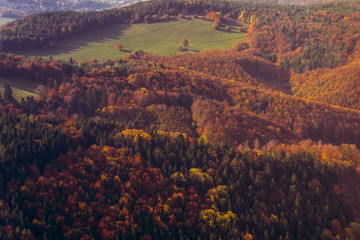 Fotobehang Aubergine Autumn Slovakia