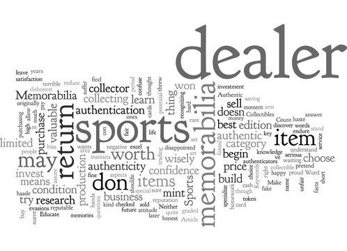 Authentic Sports Memorabilia
