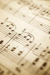Music sheet view