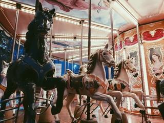 Rimini Carousel Fototapete