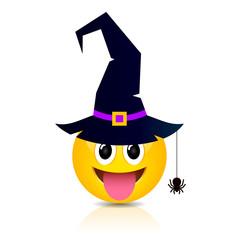 Halloween emoji vector cartoon