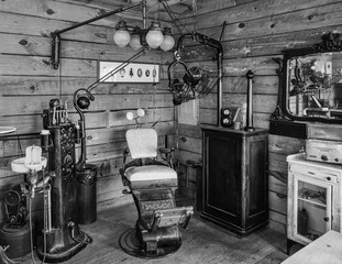 Interior of an Antique Dentist Office