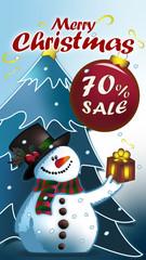 Merry Christmas sale