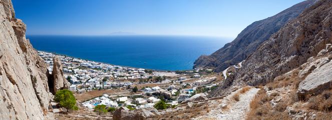 Fotorollo Santorini Kamari Panorama, Santorini