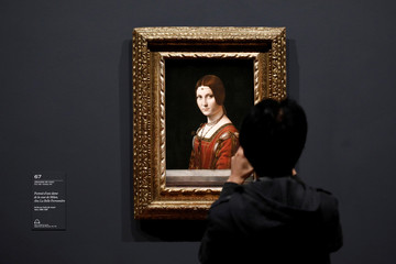 """Leonardo da Vinci"" exhibition to commemorate the 500-year anniversary of his death at the Louvre Museum in Paris"