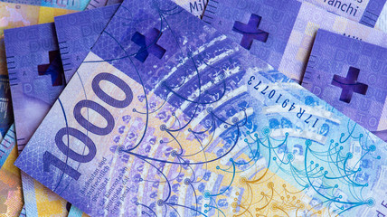 1000 swiss francs background