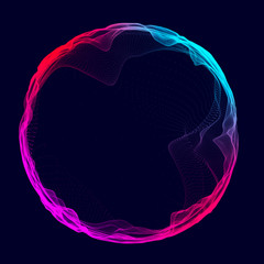 Space-time portal. Abstract red grid wormhole. Futuristic 3d portal. Cosmic wormhole. Funnel-shaped tunnel. Spiral Technology. 3d rendering.