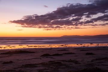 Sonnenuntergang in Morro Bay