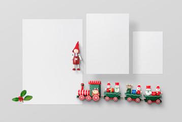 Christmas Stationery Scene