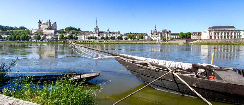 Ville de Saumur.