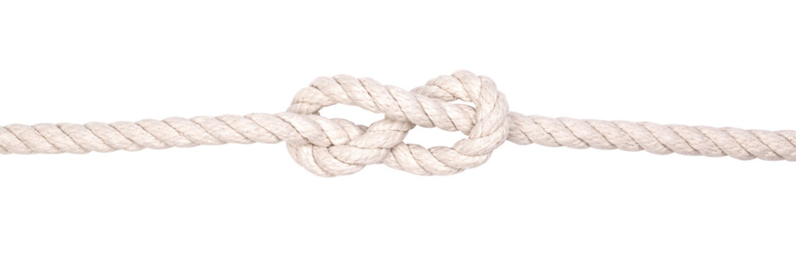 Fragment of a nautical rope