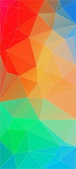 Flat awesome vertical background with triangle shapes for web design