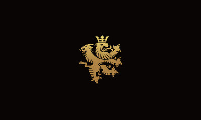 lion and goat Vectors Royalty design inspiration