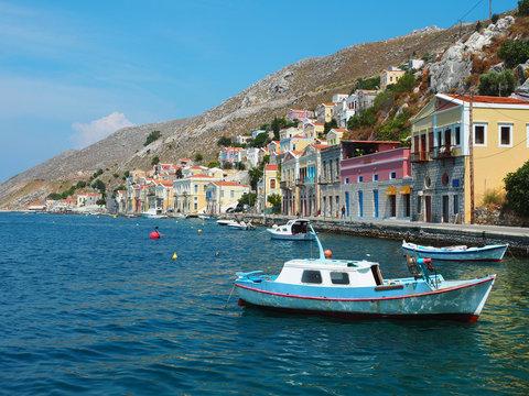 Boote in Symi - Griechenland