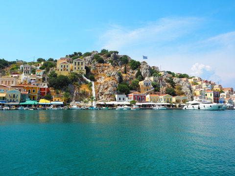 Die Dodekanes-Insel Symi