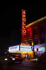 Apollo Theater, music hall located in Harlem, New York City - October 2019
