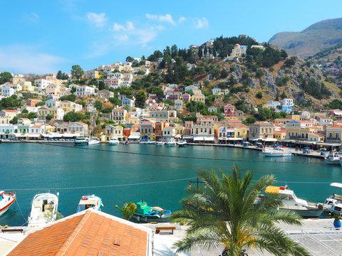 Hauptstadt von Symi - Griechenland