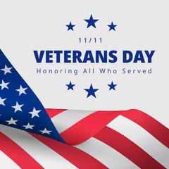 Happy and Free Veterans Day November 11th