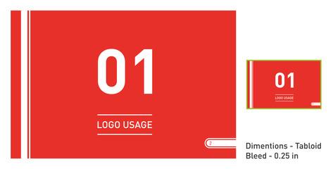 Logo Usage Page Brand Guideline