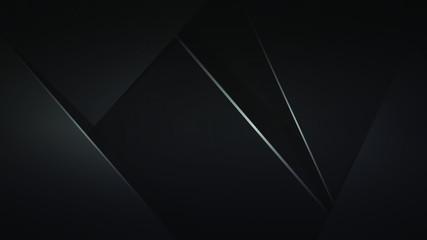Stylish black background. Ready-made illustration, wallpaper or element for your design: banner, cover, flyer, etc. Fototapete