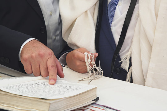 Bar Mitzvah ritual at the Wailing wall