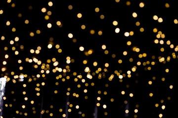 Defocused Christmas Bokeh light. Fototapete