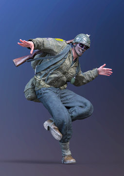 el muerto soldier street dancing