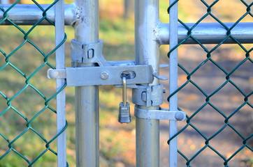 Lock fence