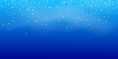 Fotomurales - Snow. Christmas snowstorm landscape. Winter Snowfall background