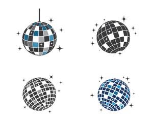 Obraz disco ball icon vector illustration design - fototapety do salonu