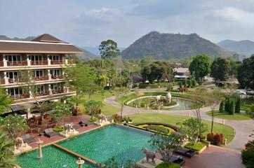 Fototapeten Dunkelbraun Khao Yai Resort, Pak Chong, Nakhon Ratchasima