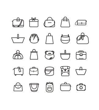 Boutique maroquinerie, mode, style, look et accessoire, bagage