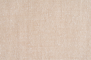 Closeup ,beige,light brown color fabric sample texture backdrop.Beige fabric strip line pattern...