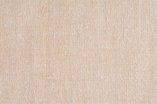 Closeup ,beige,light brown color fabric sample texture backdrop.Beige fabric strip line pattern design,upholstery for decoration interior design or abstract background.