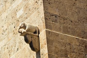 La torre dell'Elefante Cagliari Sardynia