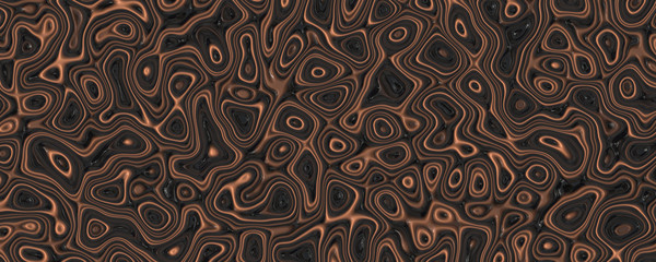 Abstract caramel liquid background
