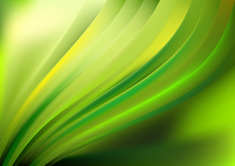 Abstract vector wave background design