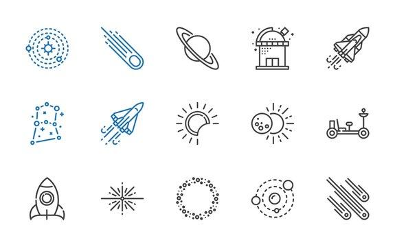 galaxy icons set