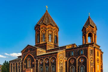 Surp Amenaprkich (Church Of The Holy Saviour Of All) landmark of Gyumri Shirak Armenia eastern Europe