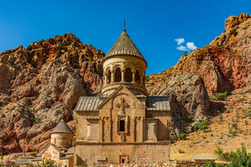 Foto auf Leinwand Osteuropa Monastery church of Khor Virap in Noravank Vayots Dzor landscape landmark of Armenia eastern Europe