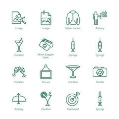 shot icons