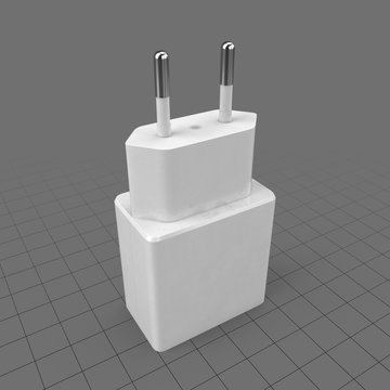 USB plug adapter