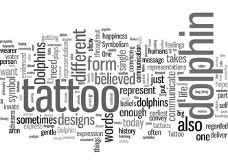 Is A Dolphin Tattoo Just Another Tattoo