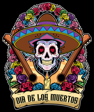 Day of the Dead Mascot