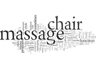 Effective Massage In A Massage Chair