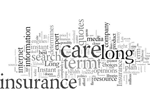 Don t Be Fooled By Instant Quote Long Term Care Insurance Websites