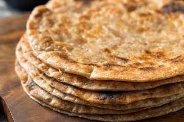 Homemade Indian Roti Chapati Bread